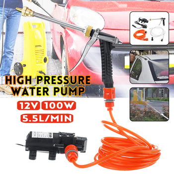 12V 100W High Pressure Car Cleaner Car Washer Guns Pump Electric Cleaning Auto Device Car Care Portable Washing Machine image