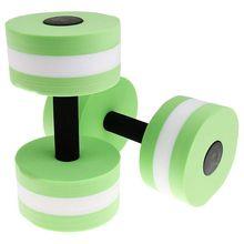 EVA водная Спортивная гантель для фитнеса водная Аэробика плавание упражнения зеленый