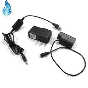 Image 2 - DMW BLF19 dummy סוללה DMW DCC12 DC מצמד + USB כבל מתאם + 5V3A כוח עבור Panasonic Lumix DMC GH3 GH4 GH5 מצלמות