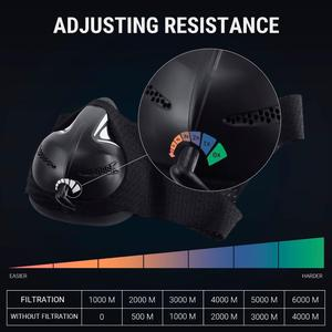 Image 3 - ALTER Sports Mask High Altitude Simulation For Training Dust Mask Running Fitness Elevation Increase Cardio Workout Gym
