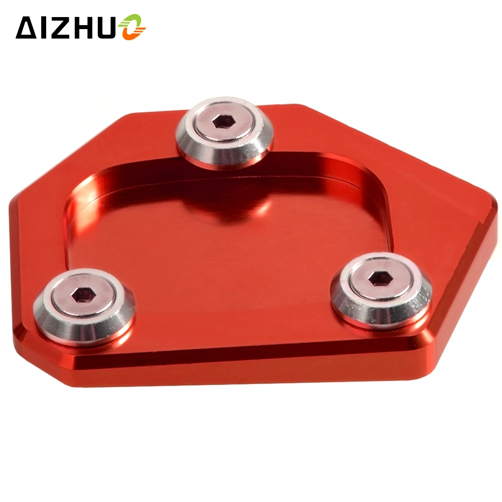 Motorcycle CNC Aluminum Side Stand Enlarge Pad Kickstand Side Stand Extension Plate For <font><b>Honda</b></font> NC <font><b>700</b></font> NC700 <font><b>Integra</b></font> 2012 2013 14 image
