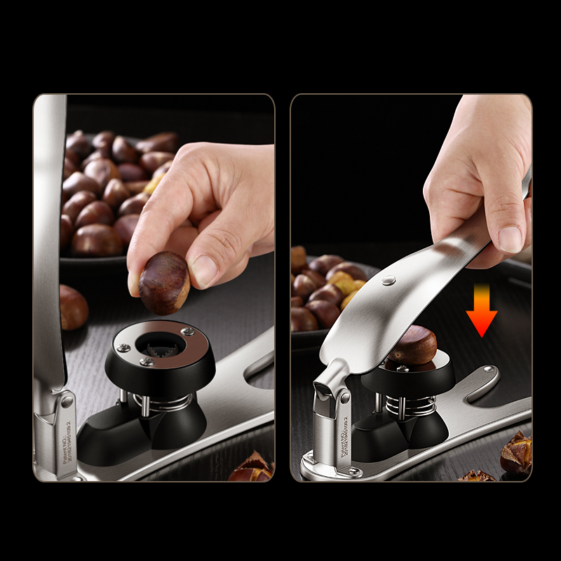 Chestnut Opener Peeling and Shelling Machine Walnut Clip Household Multi-function Kitchenware Accessories