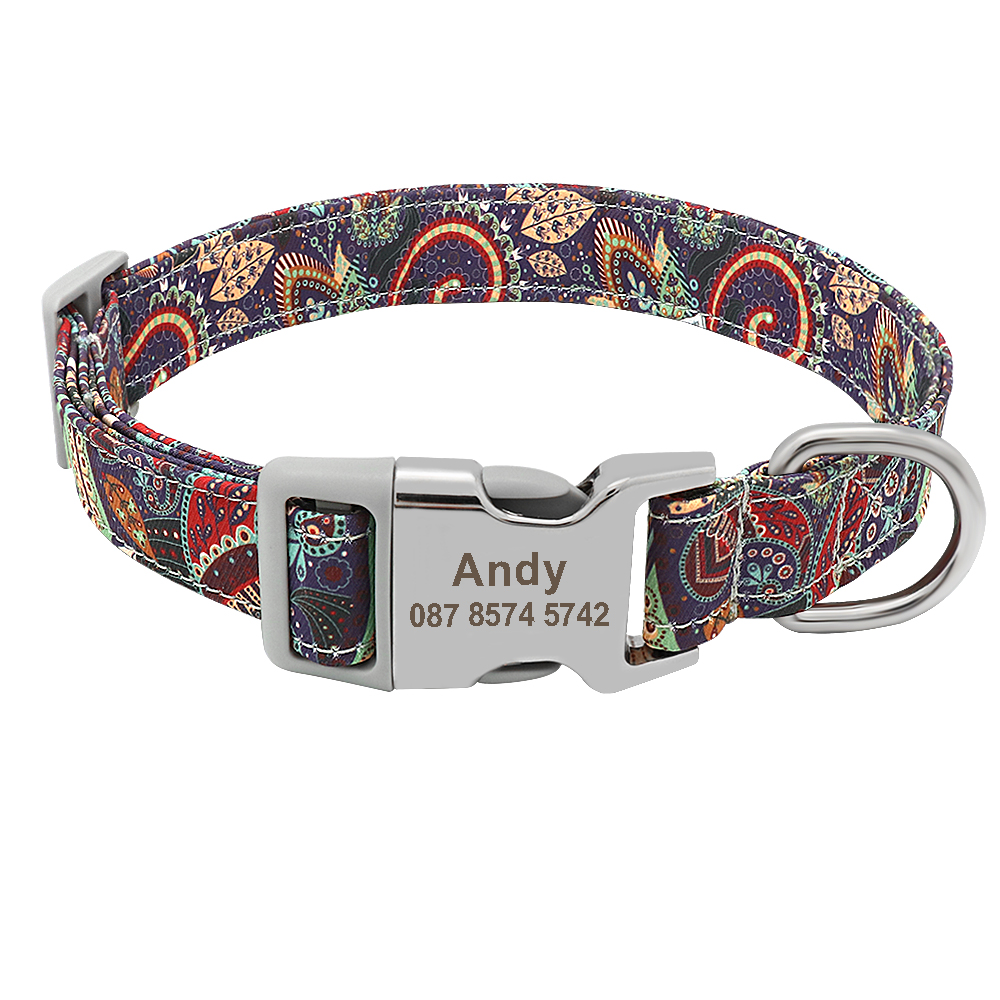 Accessories - Personalised  Pet Collar  Free Engraving