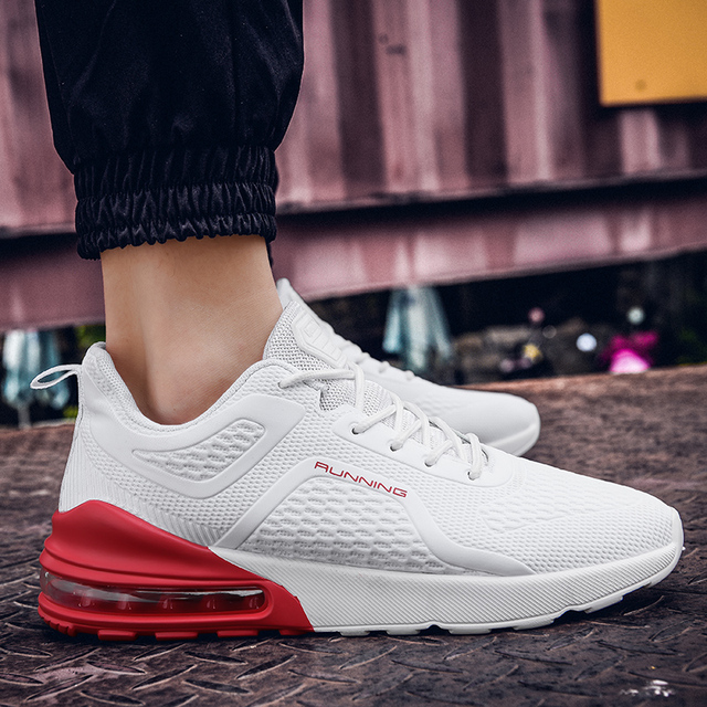Cork Men Shoes Casual Sneakers Flat Male Casual Shoes Comfortable Running Men Footwear Breathable Mesh Sports Tzapatos De Hombre