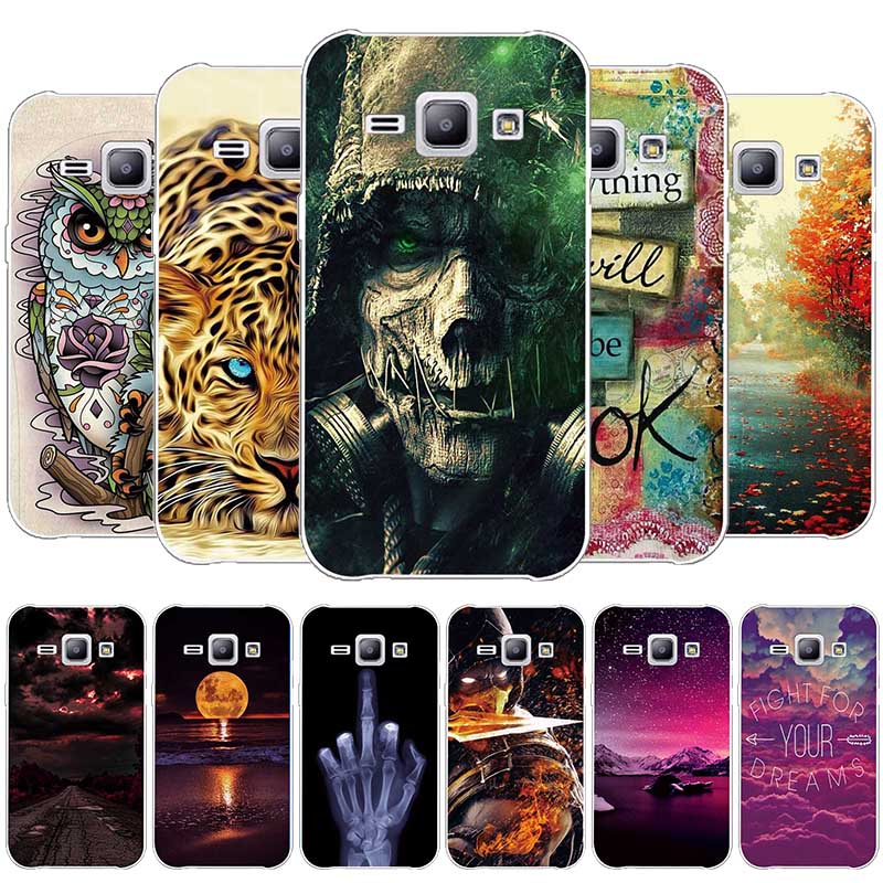 For Samsung Galaxy J1 2015 J100 J100F <font><b>J100H</b></font> J100M SM-J100FN Cases Soft TPU Cover Case for Samsung Galaxy J1 J100 Silicone Shell image