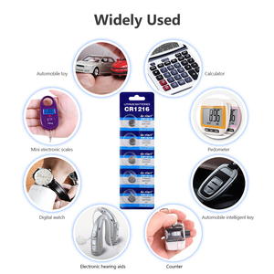 Image 4 - 2020 New 10pcs CR1216 CR 1216 1216 Watch Clock Lithium Battery Pilas DL1216 BR1216 ECR1216 5034LC LM1216 Button Coins Cells