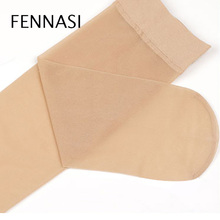 FENNASI 10 Pairs Thin Womens Short Socks Summer Cool Female Women Nylon Transparent Silk Ladies