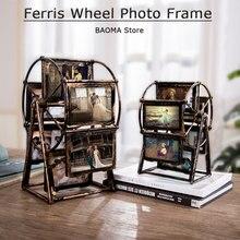 Cadre de modèle de grande roue en plastique 4 pouces 5 pouces, accessoires de décoration de maison, exposition de photos modernes, décoration de salle de mariage
