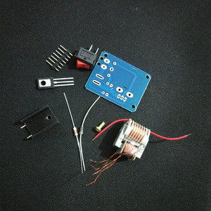 Image 3 - 15KV High Voltage Inverter Frequency DC  Generator Spark Arc Ignition Coil Module 18650 DIY Kit U Core Transformer Suite 3.7V