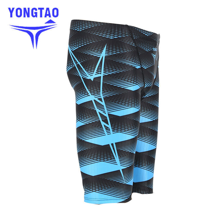 MEN'S Swimming Trunks 5 Knee-Length Swimming Trunks With Drainage Line Swimming Trunks Fashion Man 9206