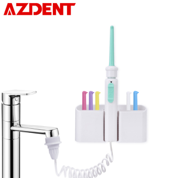 6pc Tips Oral Faucet Irrigator Dental-Flosser Portable Water Jet Floss Implement Irrigation Tooth Brush Cleaner Multi-jet Nozzle - discount item  41% OFF Personal Care Appliances