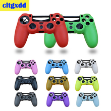 Soft Silicone Gel Rubber Case Cover For SONY Playstation 4 PS4 Controller Skin Protection Non slip Case Gamepad