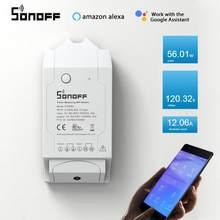 Sonoff POW R2 WiFi DIY Schalter 16A Echtzeit Power Verbrauch Messen Smart Home Automation Arbeit Mit EWelink Alexa Google hause