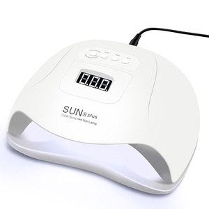 Image 1 - LED Nail Lamp for Nail Gel UV Lamp for Manicure Drying Gel Nail Polish With LCD Nail Dryer 3 Timing Nail Art Lamp