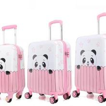 Kids Luggage suitcase Travel Rolling Suitcases Children cartoon Suitcase Spinner suitcase for kids Travel Trolley Bags wheels