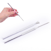 7 Pin Feather Wire Texture amp Pro Needle Pottery Clay Tools Set Ceramics Sculpting Modeling Tool Pottery Texture Brush Tools cheap CN(Origin) Aluminum alloy