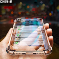 Transparent Stoßfest Fall Für Xiaomi Redmi Hinweis 5 6 Pro 4 4X 4A 5A Prime 5 Plus 6A S2 Y2 abdeckung Fundas Weiche Silikon TPU Fall