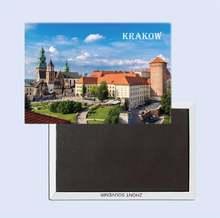 Подарки для путешествий в Краков Польша 25258 78*54 мм сувенирные