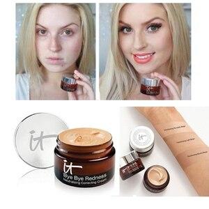 To kosmetyki BYE BYE pod zaczerwienieniem korektor do twarzy krem baza do makijażu długotrwały makijaż makijaż twarzy fundacja