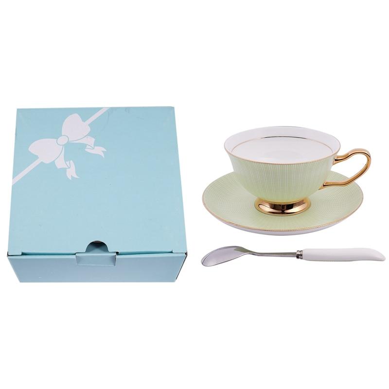 Ev ve Bahçe'ten Kahve Takımları'de Seramik kemik çini kahve ve çay kahve fincanı ve altlık içecek fincan seti title=