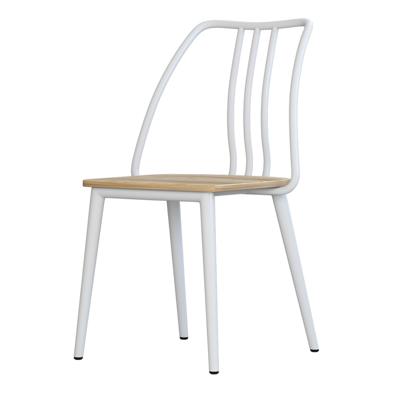 Dining Chair Iron Art Modern Simple Solid Wood Chair American Home Back DINING CHAIR Retro Leisure Chair