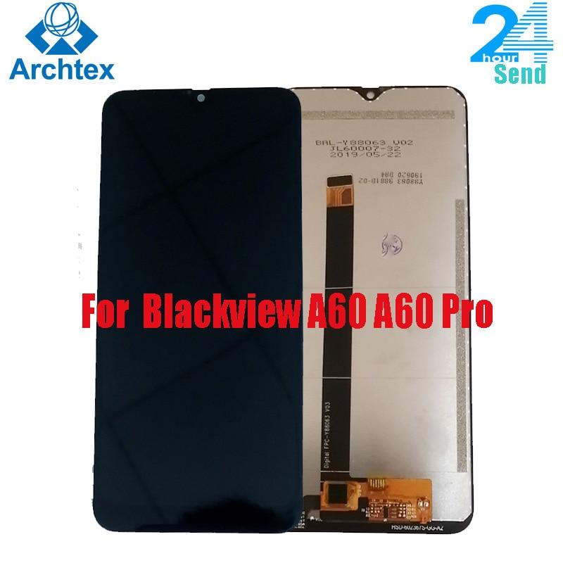 Для Blackview A60 100% оригинальный ЖК-дисплей Дисплей и тп кодирующий преобразователь сенсорного экрана в сборе для Blackview A60 Pro 6,1 inch на складе