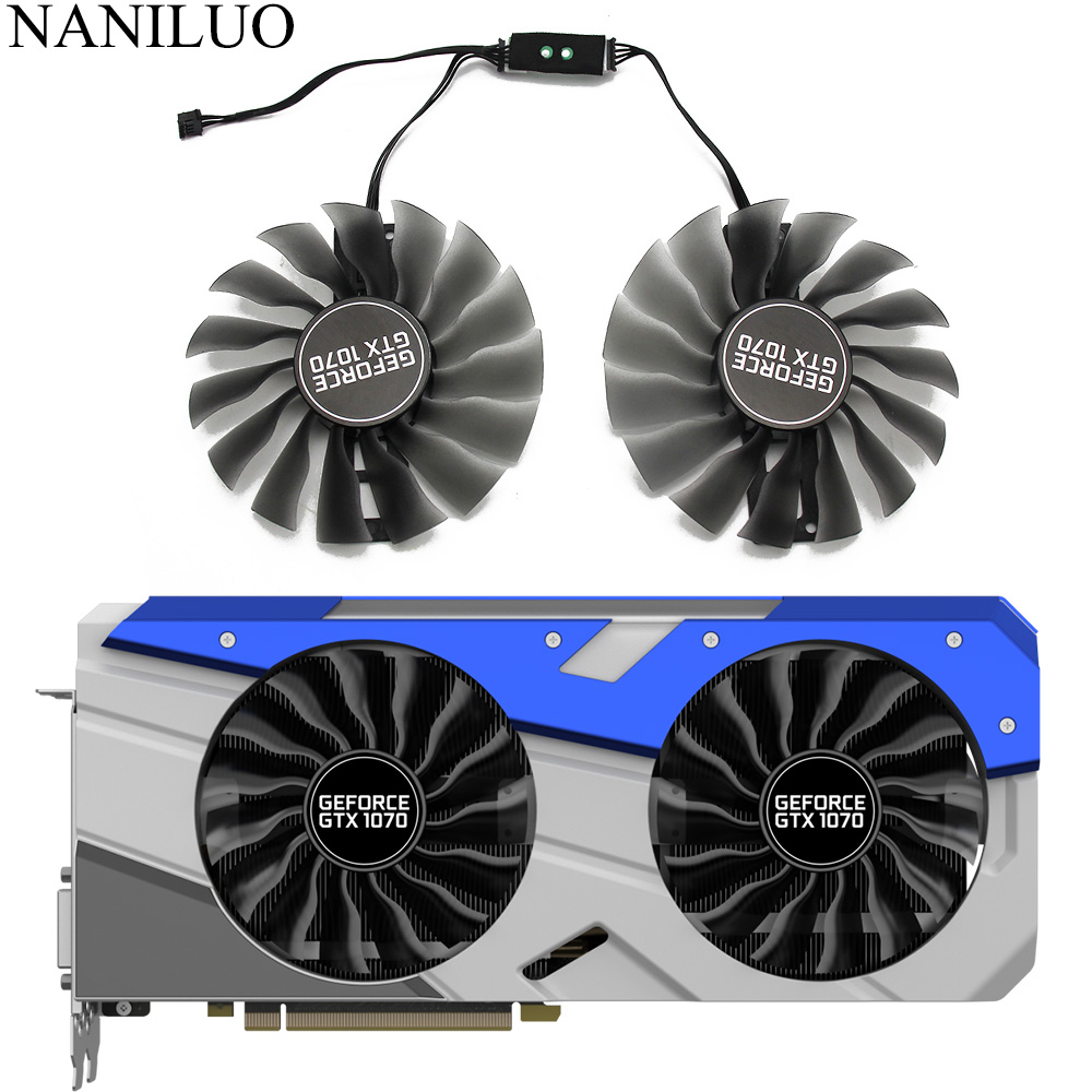 95mm GAA8S2U GTX 1070 Cooler Fan For EMTek Palit GTX1070 GameRock Premium Edition Graphics Card GPU Cooling Fan