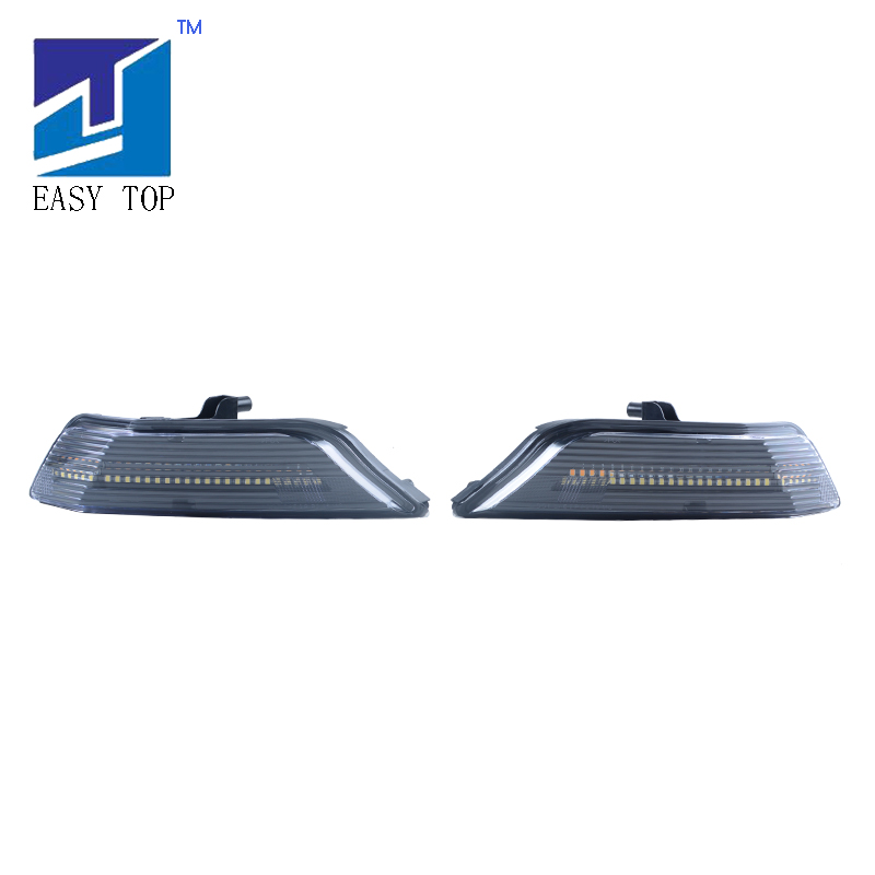 <font><b>LED</b></font> Front Turn Signal Light With Water Flash Function For <font><b>2015</b></font>-2017 Ford <font><b>Mustang</b></font> image