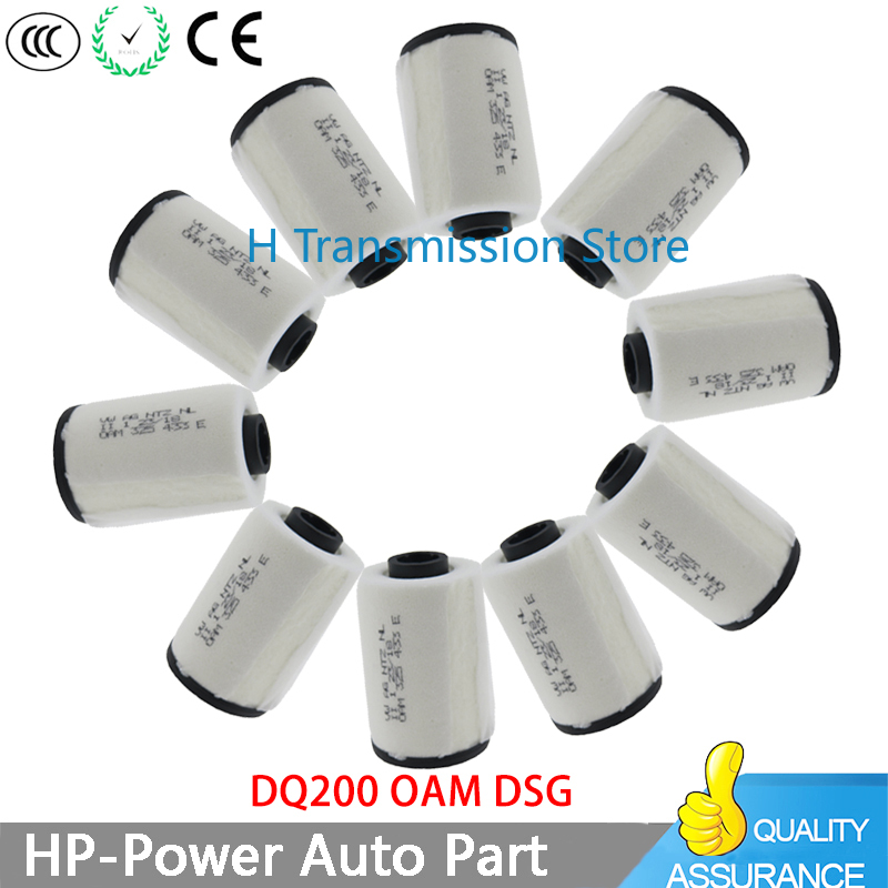 1/2/10PC/Lot New DQ200 DSG 7 Speed 0AM OAM Oil Filter 0AM325433E 325433E Auto Transmission Filter For VOLKSWAGEN Audi