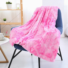 Winter Thickened plush blanket Chunky Warm Sofa Blanket Couch Chair Bed Blankets for Living Room Bedroom недорого