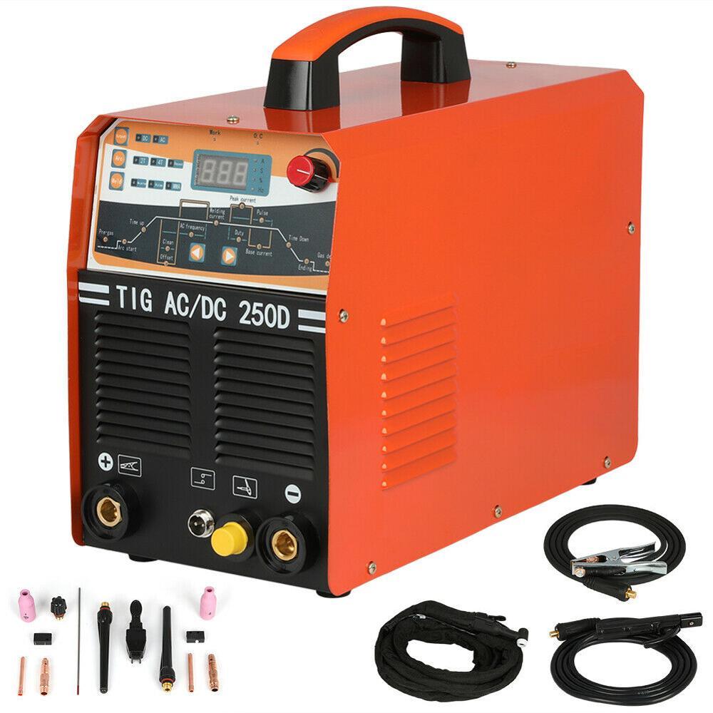 230V 250AMP AC DC Pulse TIG MMA IGBT Inverter 2-in-1 Welding Machine 2T 4T