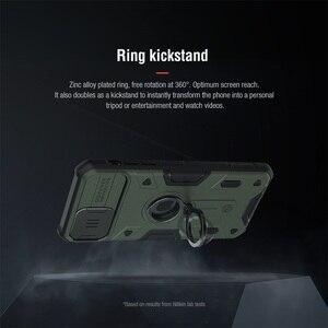 Image 3 - עבור iPhone 11 Pro Max פרו מקסימום מקרה NILLKIN CamShield שריון מקרה שקופיות מצלמה להגן על פרטיות טבעת kickstand חזור כיסוי עבור iPhone11 Pro פרו