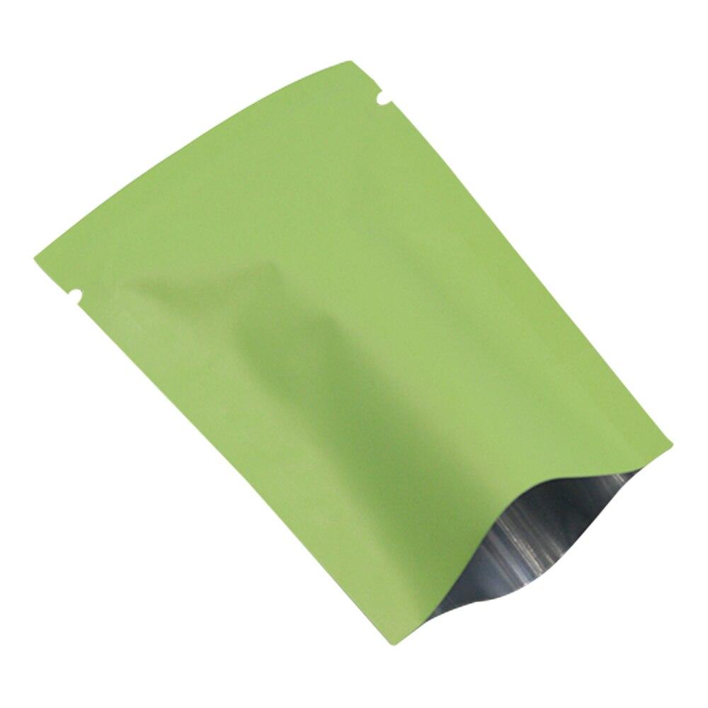 DHL, 2800 шт./лот, матовая зеленая открытая верхняя алюминиевая фольга, сумка для хранения, закуска, кофе, тепловое уплотнение, посылка, мешочки, ... - 3