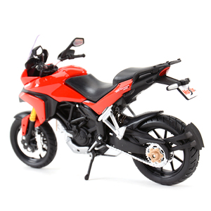 Image 2 - Maisto 1:12 Ducati Multistrada 1200S Red Die Cast Vehicles Collectible Hobbies Motorcycle Model Toys