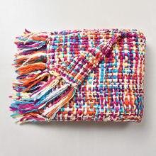 Claroom tricoté couverture jeter couverture pour canapé bureau couverture blanc gland conception climatisation couverture Colorful130x160cm PP01 #