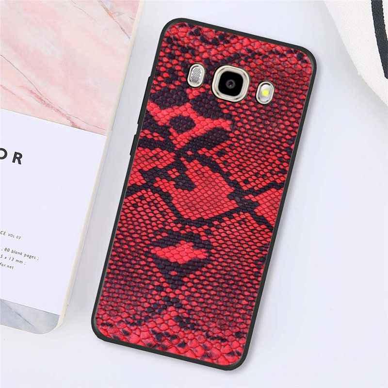 Funda de teléfono de piel de serpiente de mano de Babaite para Samsung Galaxy J7 J6 J8 J4 J4Plus J7 DUO J7NEO J2 J7 Prime