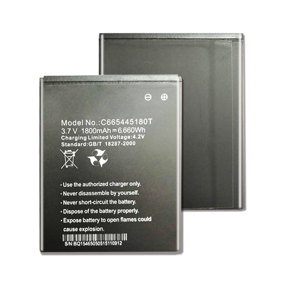 <font><b>3.7V</b></font> <font><b>1800</b></font> <font><b>mAh</b></font> Replacement C665445180T Battery For BLU NEO 4.5 D330L + Baterij Batterie Cell Phone Batteries image