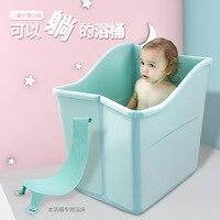 twins baby big fold bath for 0 14year Large newborn child folding bath tub adult folding bath bucket