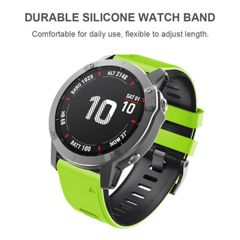 ANBEST 26mm Silicone Watch Strap for Fenix 6X 5X Sport Bands With Quick Release 3 HR - discount item  4% OFF Watches Accessories
