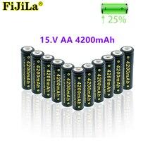 2021 neue AA batterie 4200 mAh akku NI-MH 1,5 V AA batterie für Uhren, mäuse, computer, spielzeug so auf