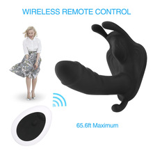 Female Masturbator Vagina Toy Remote Control Thrusting Dildo Vibrators Panties for Women