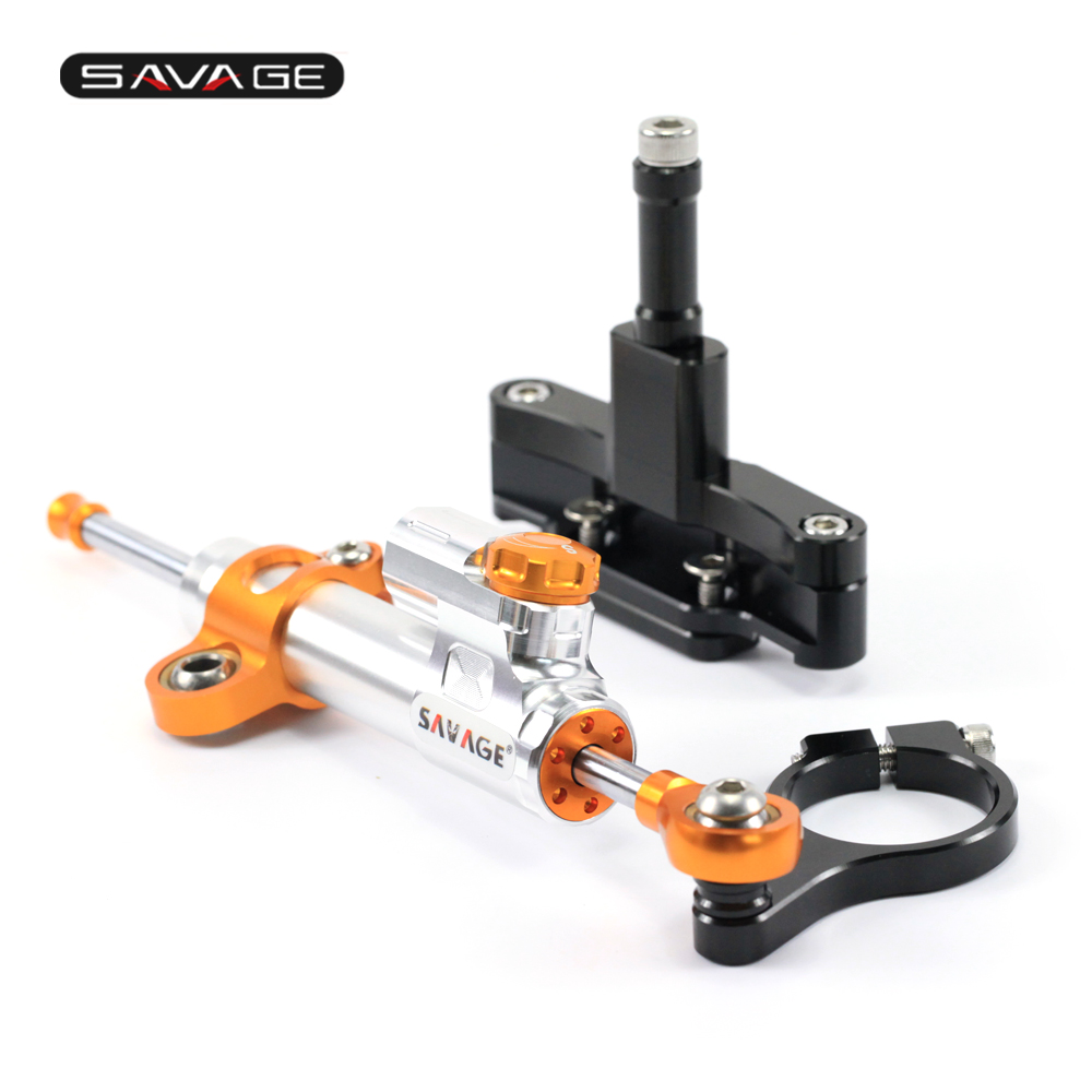 Steering Damper Stabilizer For HONDA CBR 650F CBR650F 2014-2018 15 16 17 Motorcycle Accessories Adjustable Linear With Bracket