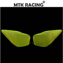 MTKRACING for YAMAHA  FORCE 155 2016 - 2019 Farce155 motorcycle acrylic headlight protector screen lens