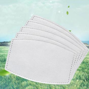 10/20/50/100pcs Adults Children Mask Filter Paper Activated Carbon Mask Filter Gasket Replacement Face Cover Accessory