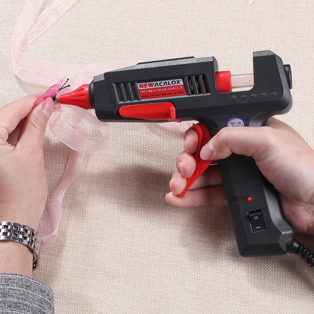 NEWACALOX Mini Hot Glue Gun for All Bonding Jobs of Any Office and House 24