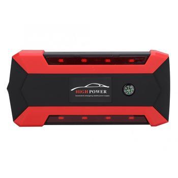 Urządzenie do wielofunkcyjny samochód skok startowy 20000mAh ładowarka baterii awaryjny powerbank LED 110-240V wzmacniacz batterie tanie i dobre opinie ESTINK 5000-8000 90 400 A 12 v 1236g Car Power Supply Car Power Bank Emergency Jump Starter