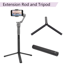 Extension Rod Pole Stick Scalable Holder Desktop Tripod for DJI OM 4 Osmo Mobile 2 3 Feiyu Vimble ZHiyun Smooth 4 Stabilizer