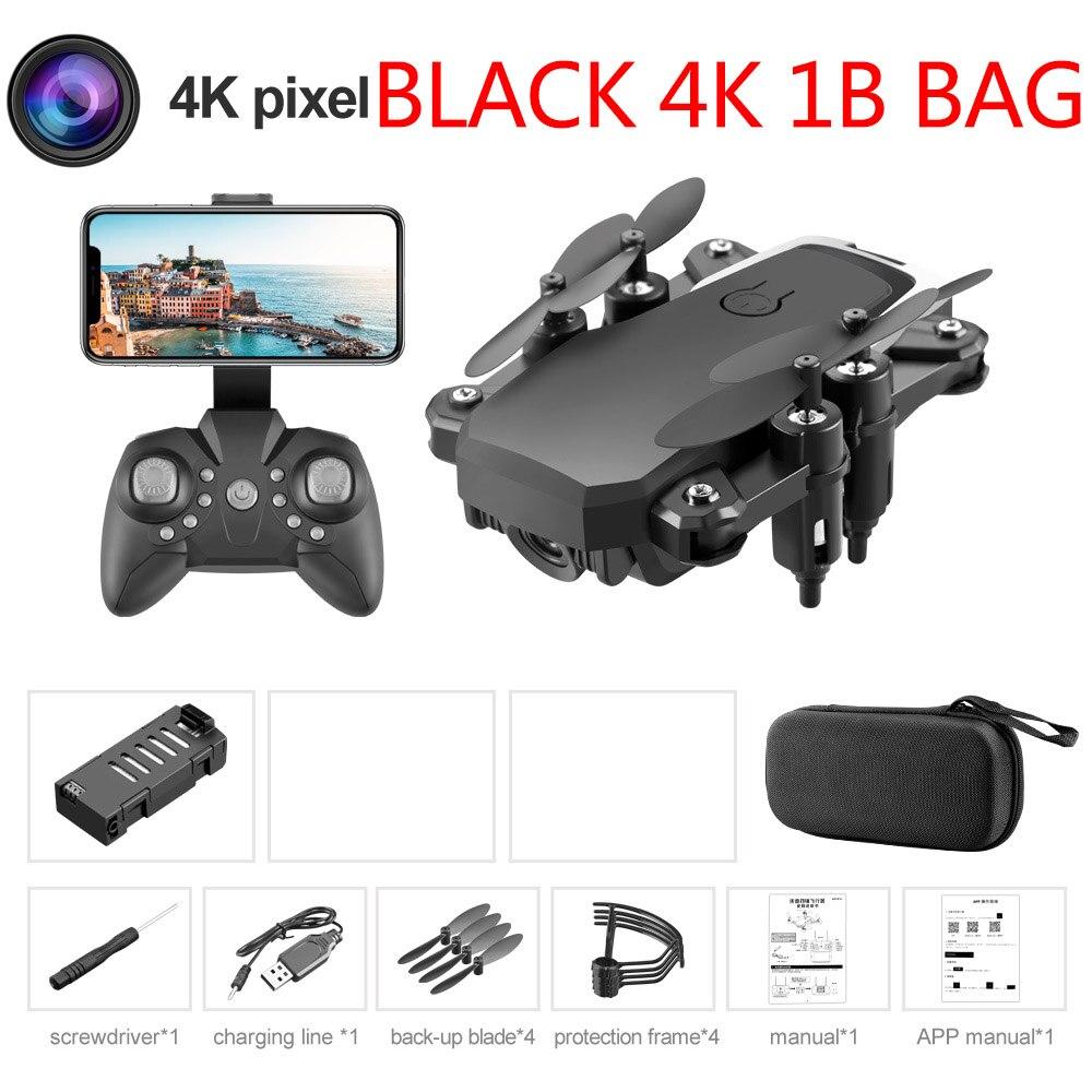 Black 4K 1B Bag