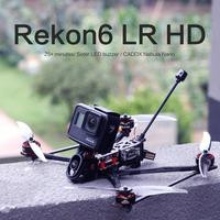HGLRC REKONFPV Rekon6 HD Zeus F722 Mini BL_S 28A CADDX nebulosa Nano 2105,5 1500KV 4S 6 pulgadas Mini rango de LR6 Digital FPV Drone