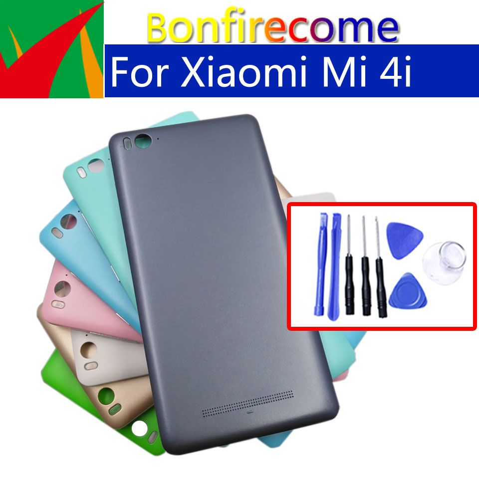 Battery Back Cover For Xiaomi Mi4i Mi 4i Back Battery Door Rear Housing Cover Case Chassis Shell Replacement